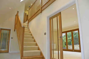 Tintells Hallway Staircase Joinery Work
