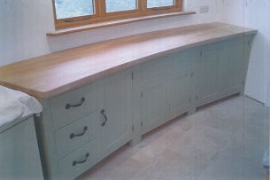 Joinery Services - Bespoke Curved Kitchen Units