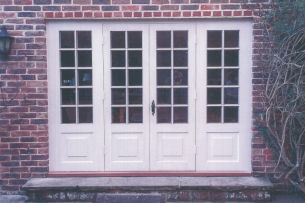 Joinery Services - Bespoke Hardwood French Doors