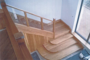 Joinery Services - Bespoke Oak Staircase Board