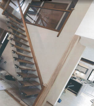 Joinery Services - Bespoke Glass & Oak Staircase